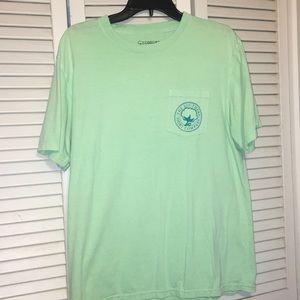 Southern shirt company light green shirt
